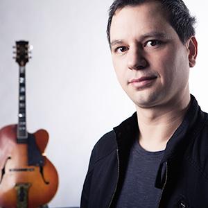 Guitarist Andreas Dombert