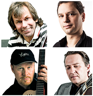 Night of Jazz Guitars  LineUp 2015